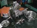 R360クーペ エンジンミッション分解前.JPG
