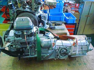 R360クーペ エンジン組み立て完了②.JPG